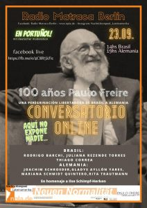 Paulo Freire online Diskussion
